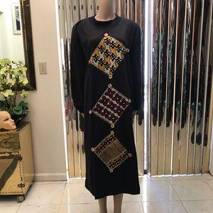 Dresses & Skirts - Plus Size African Print Stretch Dress
